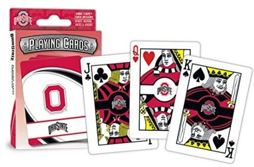 MasterPieces NCAA Ohio State Buckeyes Playing Cards (Ohio Toys State Buckeyes)