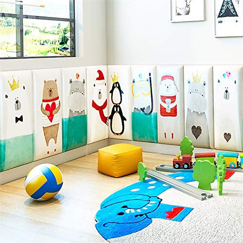Amazon.com: Liveinu 3D paneles de pared de dibujos animados ...