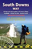 South Downs Way: Trailblazer British Walking Guides: 60 Large-Scale Walking Maps & Guides to 49 Towns & Villages - Planning, Places To Stay, Places to Eat - Winchester to Eastbourne