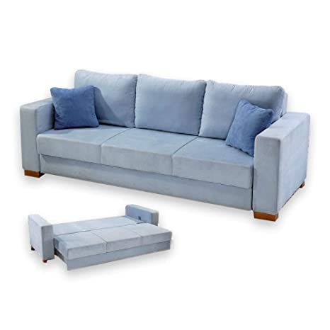 Amazon.com: Sofá cama Futon Blaizer Easy-Go Sofá cama ...