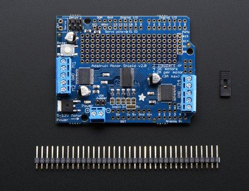 Adafruit motor stepper servo shield for arduino v kit