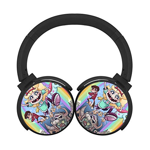 Mobile Wireless Bluetooth Star_xFor 3D Printing Over Ear Headphones Black