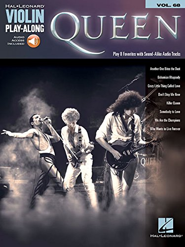 (Queen: Violin Play-Along Volume 68 (Hal Leonard Violin Play-Along))