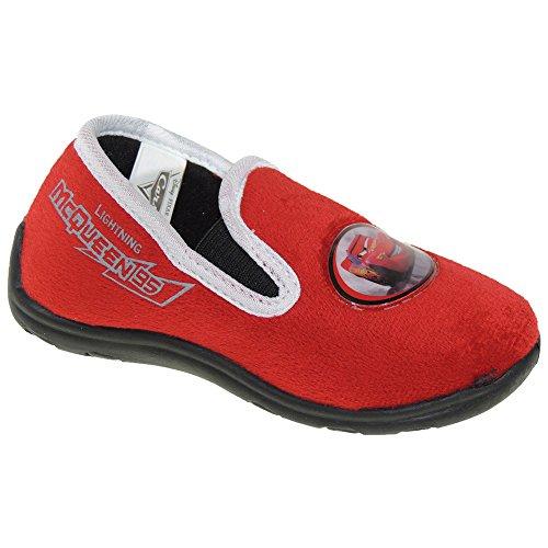 Calzados Romero Disney. Zapatilla Cars - Modelo 305689 Rojo