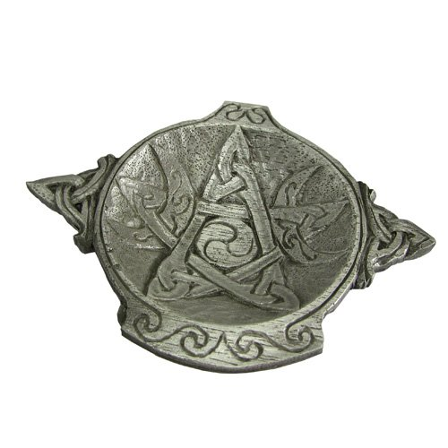 (Dryad Design Pewter Moon Phase Pentacle Wiccan Altar)