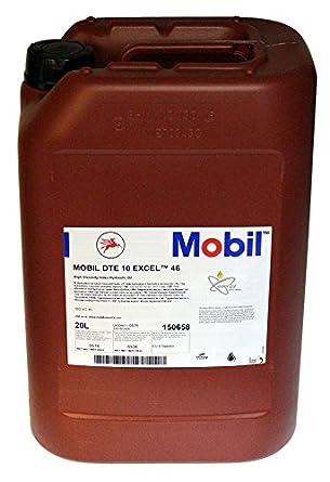 Aceite hidráulico MOBIL DTE 10 EXCEL 46 envase de 20 LITROS ...