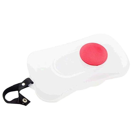 Ballylelly Protable PP Artículos para bebé Cómodas toallitas húmedas Cajas transparentes para tejidos Color blanco Para exteriores Traviesa Elegante caja ...