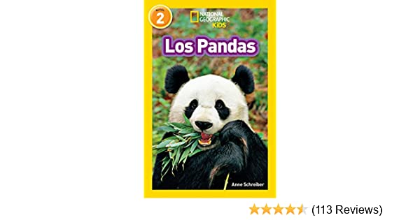 Amazon.com: National Geographic Readers: Los Pandas (Spanish Edition) eBook: Anne Schreiber: Kindle Store
