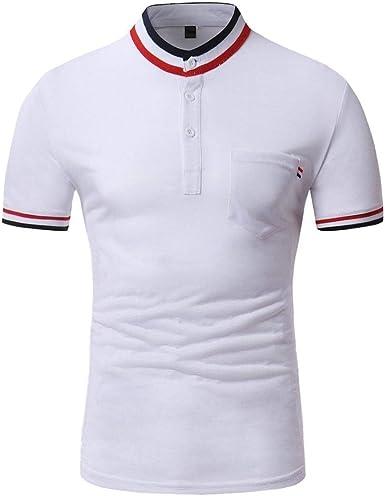 Battercake Camisa De Polo para Hombre De Camisa Polo del Cuello De Cómodo Verano Camiseta Camisa De Manga Corta De Ocio Delgado para Mujer Tops Tops: Amazon.es: Ropa y accesorios
