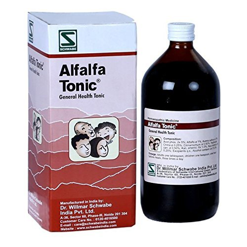 General Tonic (Dr.Willmar Schwabe Alfalfa Tonic General Health Tonic by Dr.Willmar Schwabe)