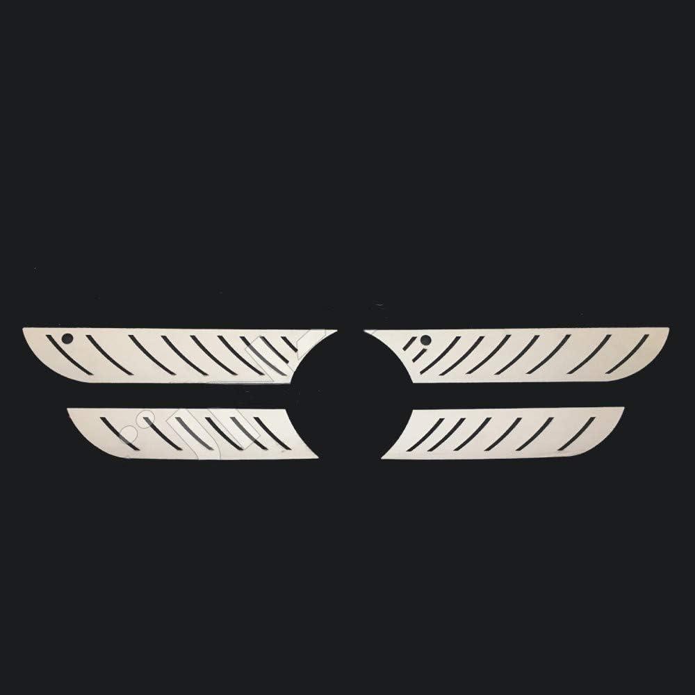 Passen Mercedes Atego K/ühlergrill innen Super Polierter Edelstahl 4 St/ück