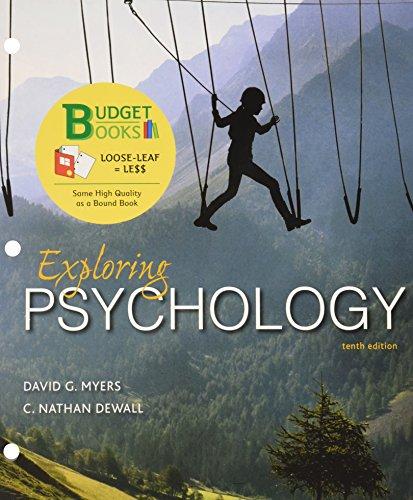 Loose-leaf Version for Exploring Psychology -  Myers, David G., Teacher's Edition, Loose Leaf