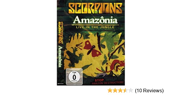 dvd scorpions amazonia live in the jungle gratis