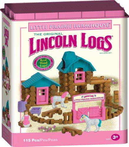 lincoln-logs-little-prairie-farmhouse-building-set