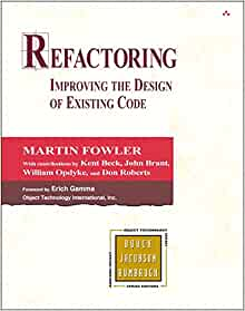 Refactoring martin fowler