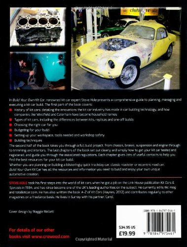 Build Your Own Kit Car Buy line in KSA Paperback
