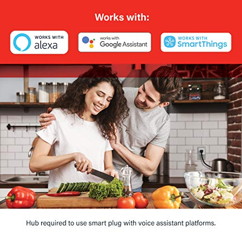 Smart Plug Outlet with Timer Function by Sengled, Compatible with Alexa, Google Home, Smart Hub Required, App Control, Type B Mini Smart Socket (1 Pack)