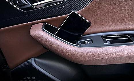 Plástico interior parte trasera puerta caja de almacenamiento Holder 2pcs para coche accesorios adq7: Amazon.es: Coche y moto