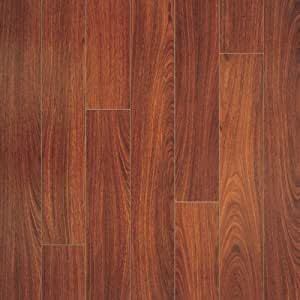 Pergo 056021 Elegant Expressions Laminate Flooring, 4.9-Inch by 48.5-Inch Plank Size with 13.10 Total Square Feet per Carton, Jatoba