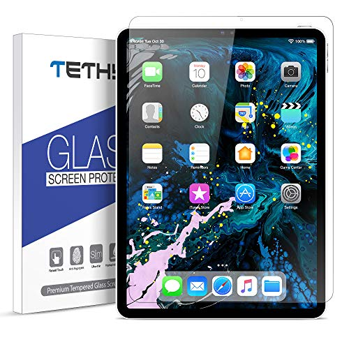 Tethys Glass Screen Protector Designed For Ipad Pro 11 Inch 1 Pack Durable Hd Tempered Glass For Apple Ipad Pro 11 Inch 2018 1 Pack