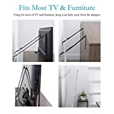 Anti Tip Furniture and TV Safety Straps
