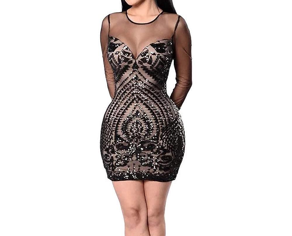 San Francisco 19ee1 41744 Carolina Dress Vestidos Sexys Casuales Cortos Negros De ...