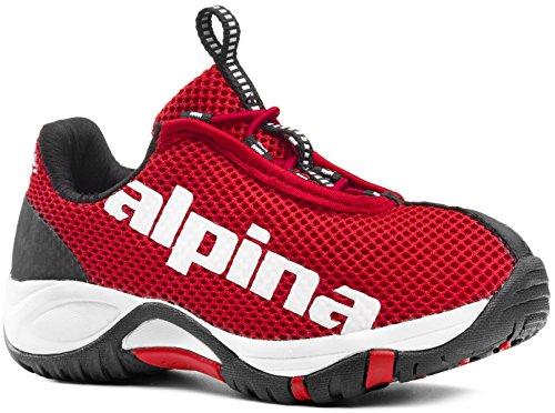 alpina Unisex-Kinder EWL Junior Freizeitschuhe,Trekking-& Wanderhalbschuhe rot