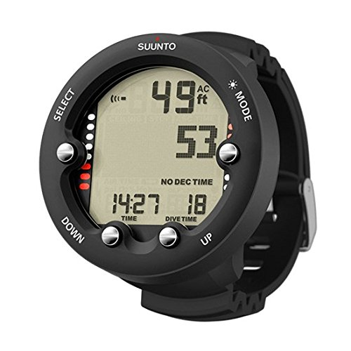 Suunto Zoop Novo Wrist Unit Scuba Diving Computer, Black