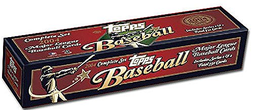 2004 Topps Baseball Factory Set Complete Series I & II 732 Cards (2004 Topps Draft)