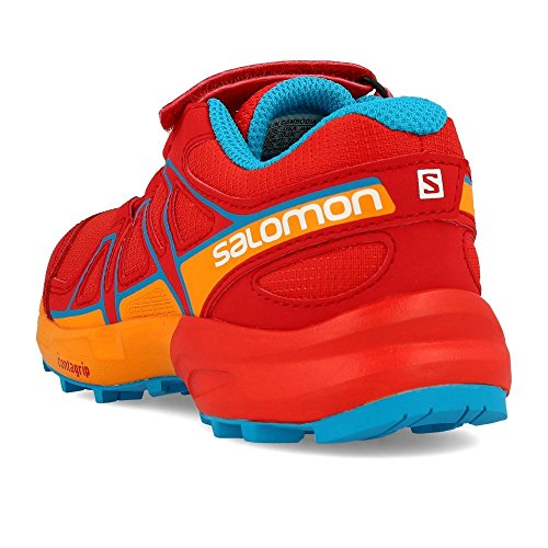 Red Salomon K Trail Da Scarpe Running Bambini Bungee Speedcross Unisex – rrCqxwUv