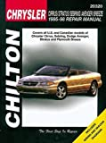 Chrysler Cirrus, Stratus, Sebring, Avenger, and Breeze, 1995-98 (Chilton Total Car Care Series Manuals)