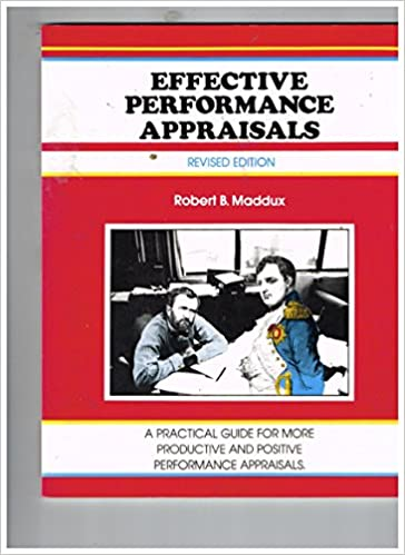 Book Effective Performance Appraisals (The Fifty-minute series)