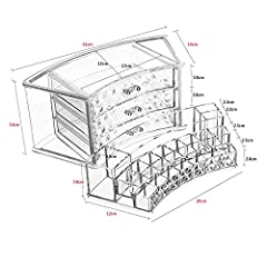 Load:25kg Lattice Quantity:Doge Style:Korean Capacity:Disagree Brand Name:Feing Type:Storage Boxes & Bins Specification:31*21.5*20CM Material:Transparent Acrylic Product:Acrylic Storage Box Model Number:Cosmetics Storage Box Feature:Stock...