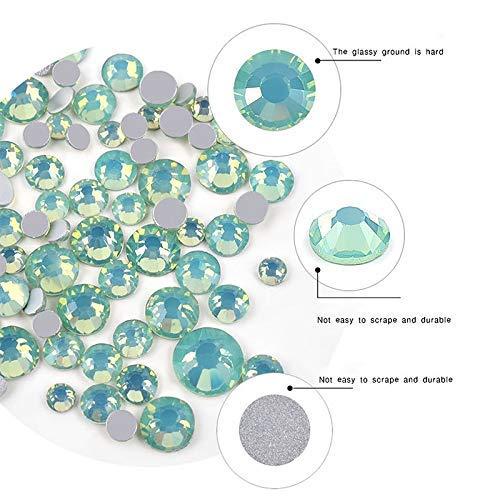 Amazon.com: NICOLE - Cuentas de cristal para decoración de ...