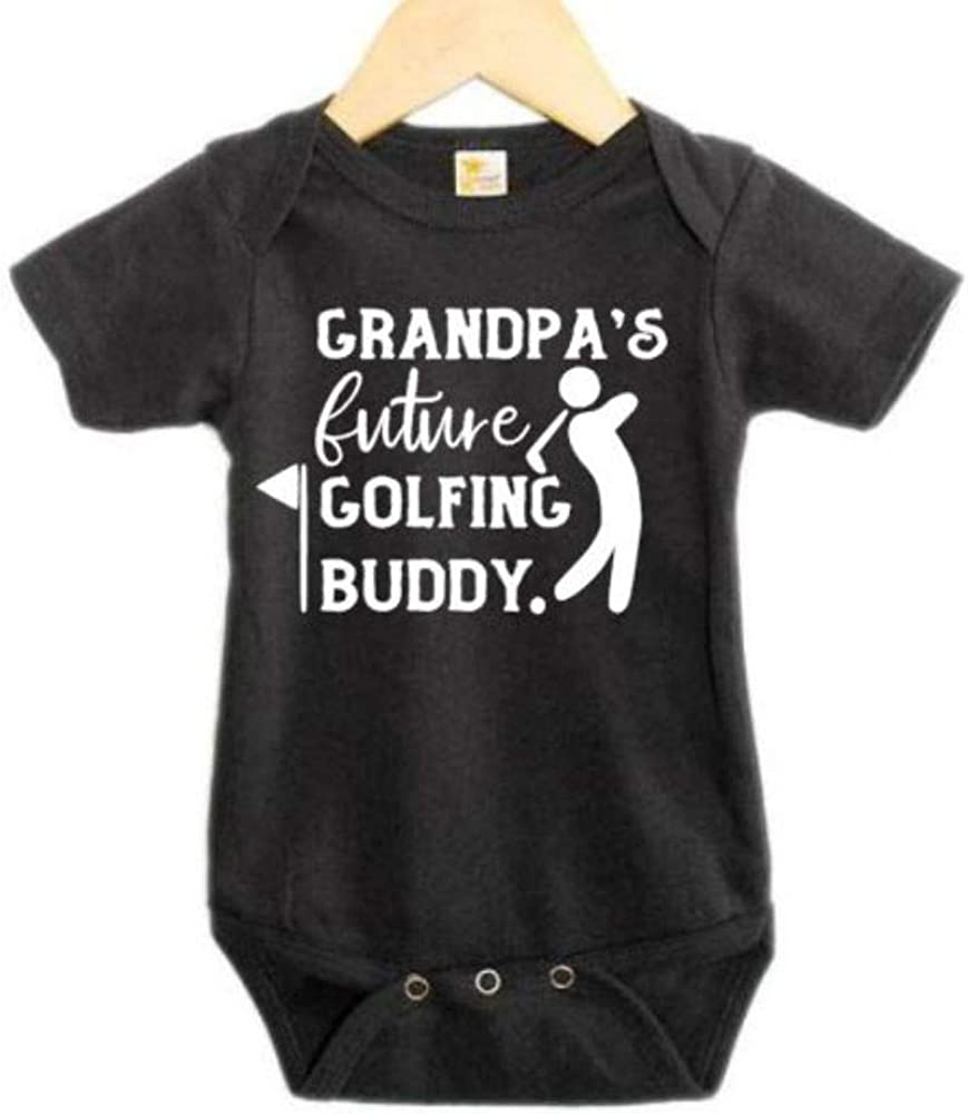 Grandpa's Future Golfing Buddy/Baby Announcement/Granddad Bodysuit/Onesie