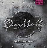 Dean Markley NickelSteel Signature 5-String Bass Guitar Strings, 48-128, 2606B, Medium