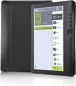Bewinner Lector de Libros electrónicos de 7 Pulgadas, Pantalla Colorida a Prueba de Agua con núcleo ARM9 Lector electrónico Ultrafino Ultrafino para Windows XP/Vista/Linux(Tarjeta TF 8G): Amazon.es: Electrónica
