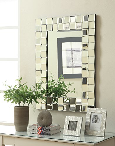 Coaster Home Furnishings 901815 Mirror Silver