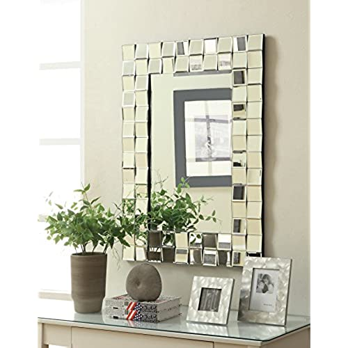 decorative mirrors for living room. Coaster Home Furnishings 901815 Mirror  Silver Decorative Mirrors For Living Room Amazon Com