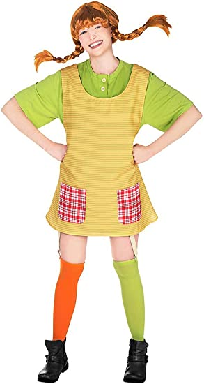 Generique Disfraz de Pipi Calzaslargas mujer S: Amazon.es ...
