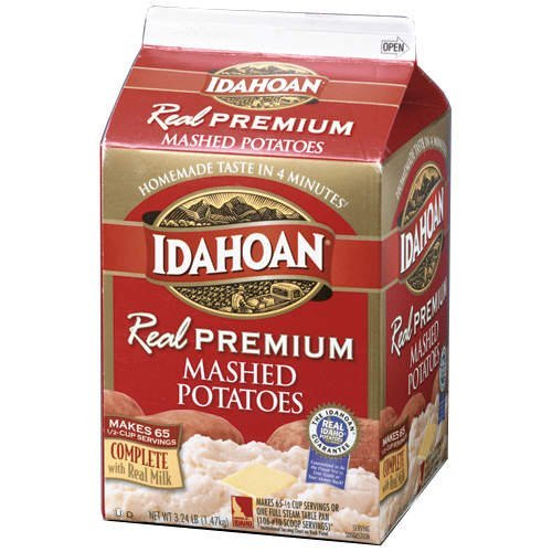 Idahoan REAL Premium Mashed Potatoes - 3.24lbs. - CASE PACK OF 4 by Idahoan