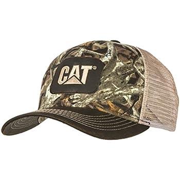 BD A Caterpillar CAT Equipment Next Camo Snapback Mesh Hunting Cap Hat d1c48e00b830