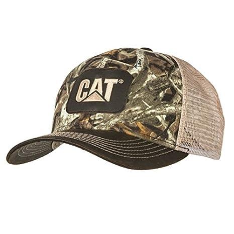 66b4c880a3e Amazon.com  BD A Caterpillar CAT Equipment Next Camo Snapback Mesh Hunting  Cap Hat  Sports   Outdoors