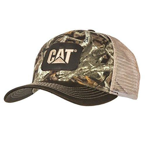 BD&A Caterpillar CAT Equipment Next Camo Snapback Mesh Hunting Cap/Hat