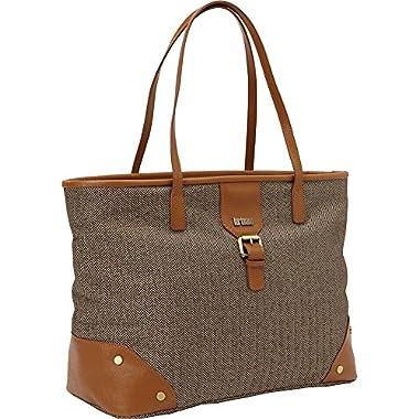Hartmann Herringbone Luxe Softside Shoulder Bag