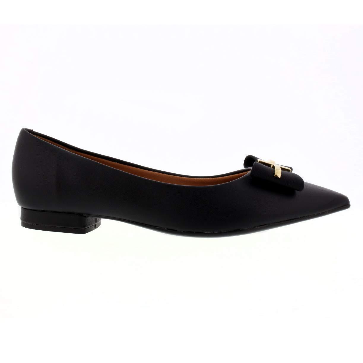c088ead9c Vizzano Made in Brazil galm Stylish Flats Ballerinas Black Casual Wearing  Women Shoes Flats Women