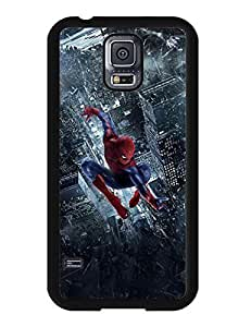 2744291M524515657 Spiderman Samsung Galaxy S5 I9600 Case Cartoon Image Printed Snap-on Cover