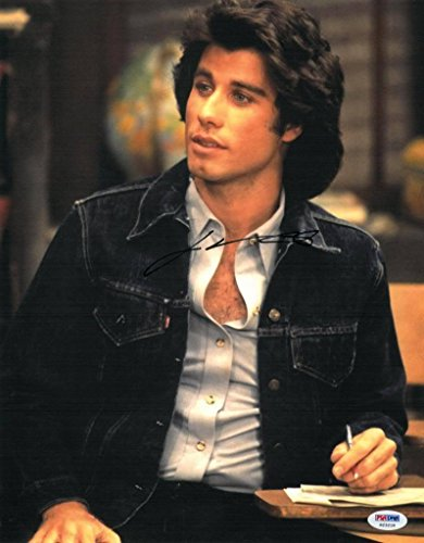 Welcome Back Kotter John Travolta Autographed Photo
