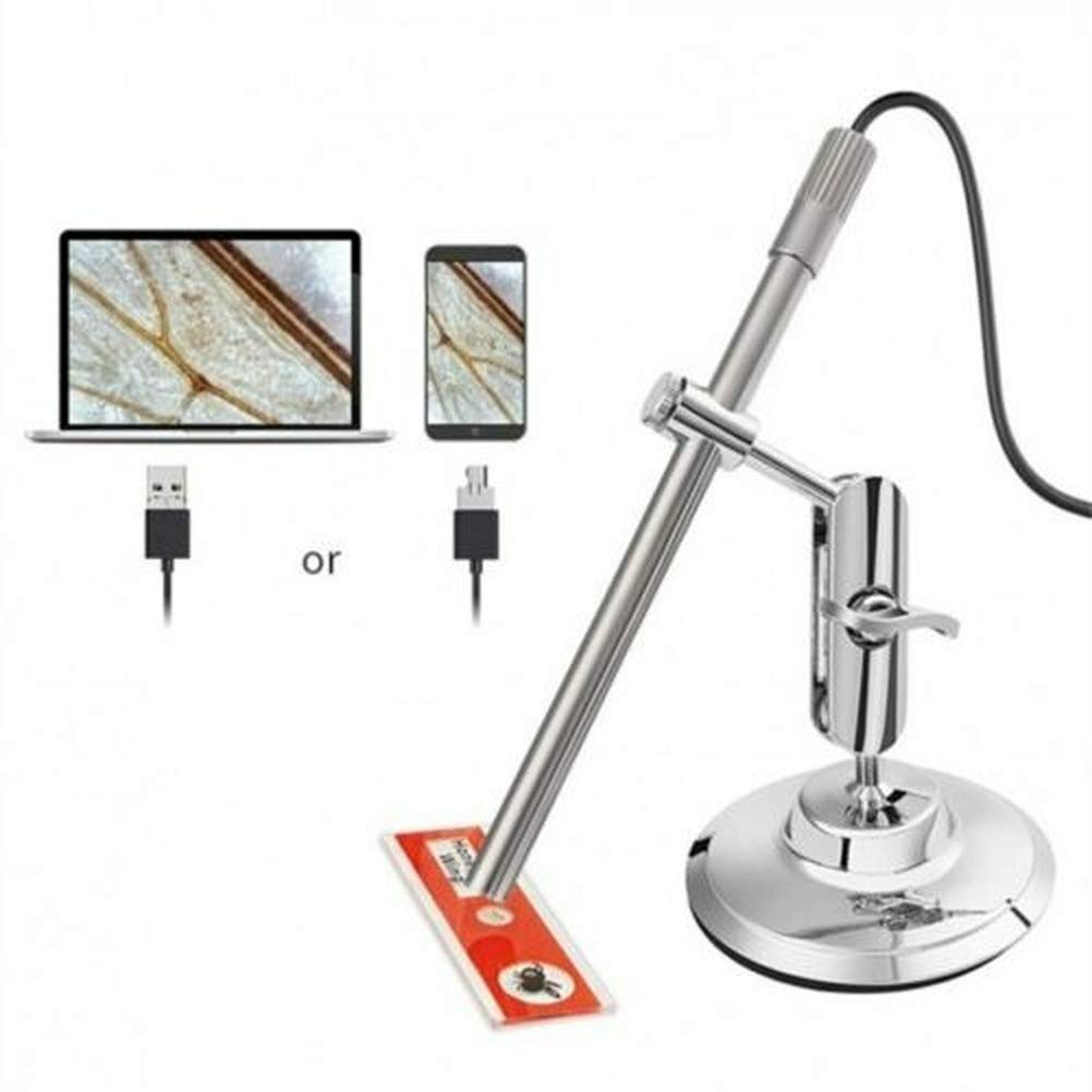 MS100 USB Microscope Soldering 10-200X Magnifier Camera IP67 Waterproof