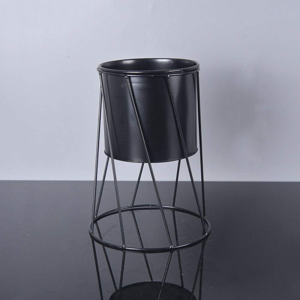 CWLLWC Pot Rack di Fiore, Ferro Metallo impianto Rack-pentola pianta verde Creativo Multi-Carne impianto Vaso di Fiore Fiore, Fiore barile